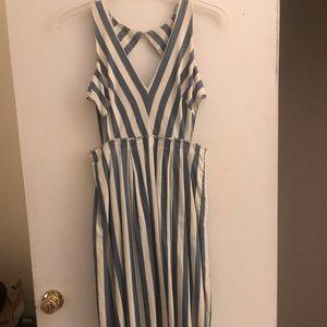 Cutout Summer Dress